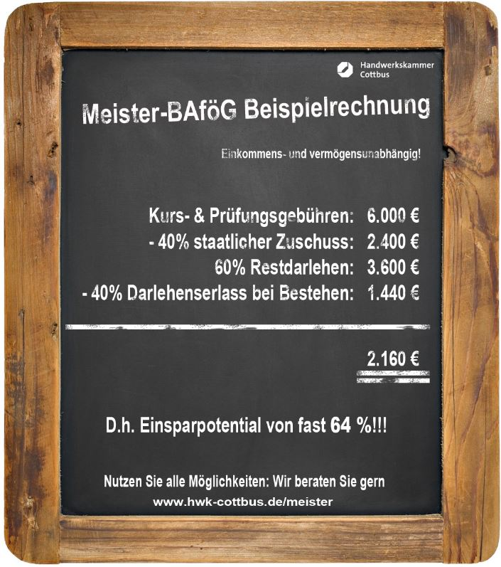 Meister BAföG Erhöhung – mehr Geld für Meisterschüler