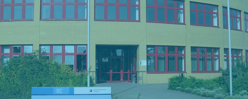 Lehrbauhof Großräschen der Handwerkskammer Cottbus
